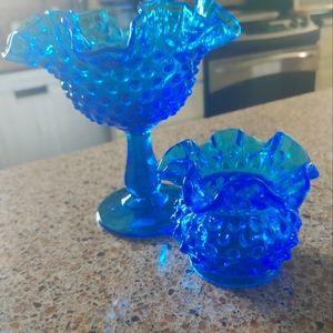 Vintage Fenton Glass set